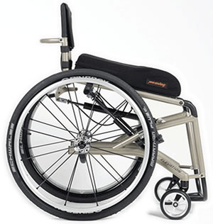 PDG Mobilitys Elevation manual wheelchair